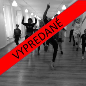 DANCEMÁNIA – tanečný tábor s profi tanečníkmi